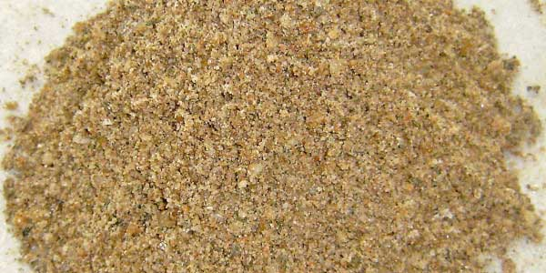 Sand – fractionated 0/ 4 mm