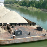 Extraction of sand and ballast